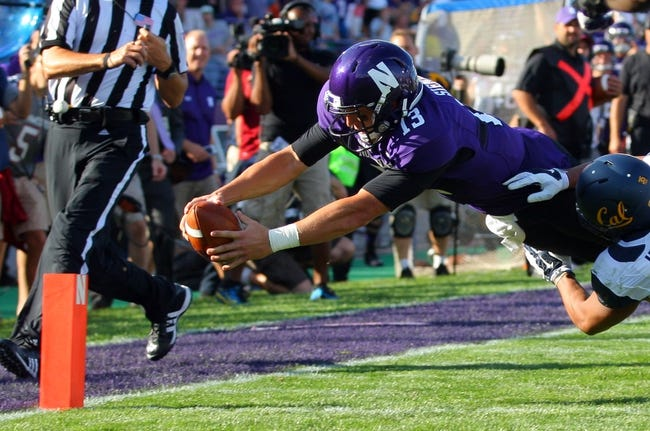 Northwestern Wildcats vs. Northern Illinois Huskies CFB Pick, Odds, Prediction - 9/6/14
