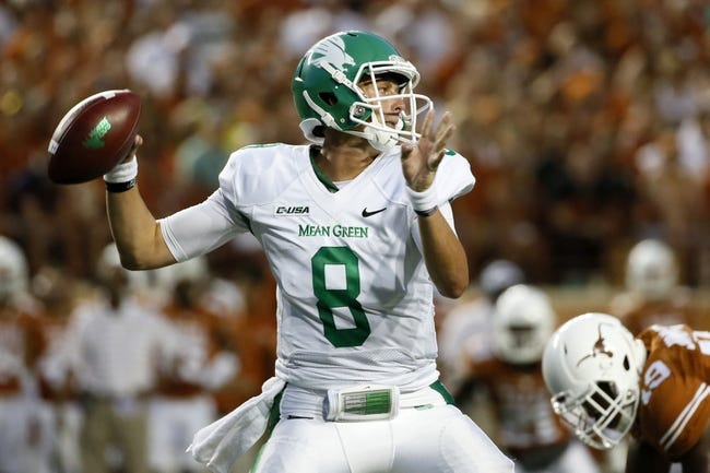 North Texas Mean Green vs. Southern Methodist Mustangs Pick-Odds-Prediction - 9/6/14
