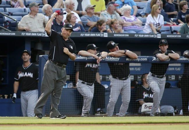 Miami Marlins vs. Atlanta Braves 9/5/14 Free MLB Pick, Odds, Prediction