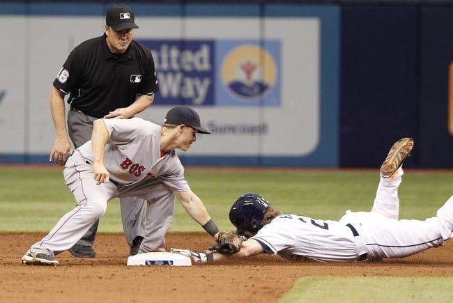 Boston Red Sox vs. Tampa Bay Rays 9/23/14 MLB Pick, Odds, Prediction