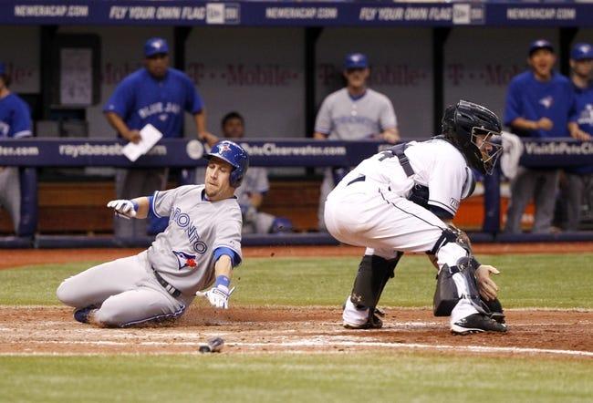 Tampa Bay Rays vs. Toronto Blue Jays 9/3/14 MLB Pick, Odds, Prediction