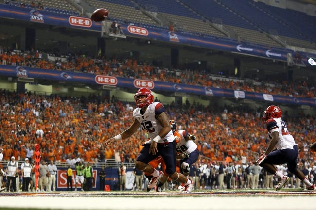 Arizona Wildcats vs. Nevada Wolf Pack 9/13/14 College Football Pick and Odds