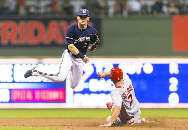 Milwaukee Brewers vs. St. Louis Cardinals 9/5/14 MLB Pick, Odds, Prediction