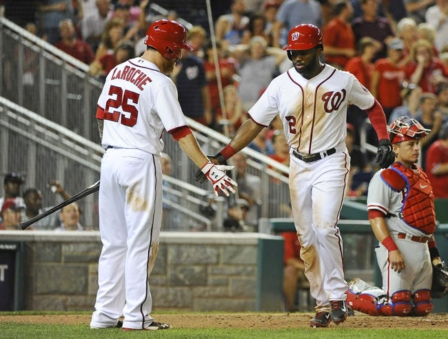 Washington Nationals vs. Philadelphia Phillies MLB Pick, Odds, Prediction - 9/6/14