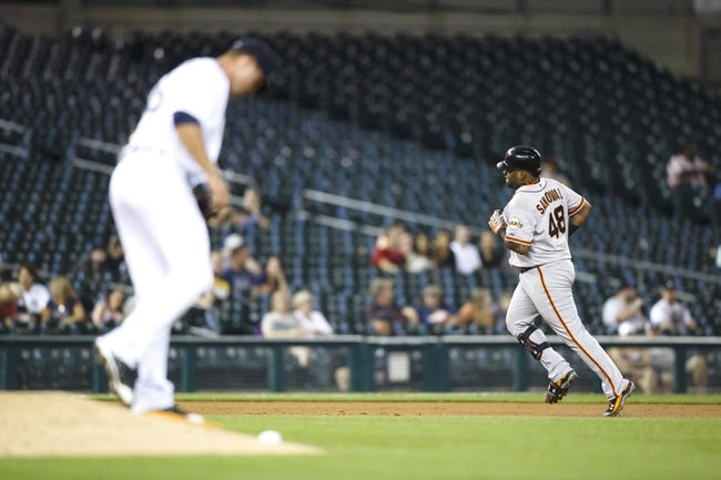Detroit Tigers vs. San Francisco Giants MLB Pick, Odds, Prediction - 9/6/14