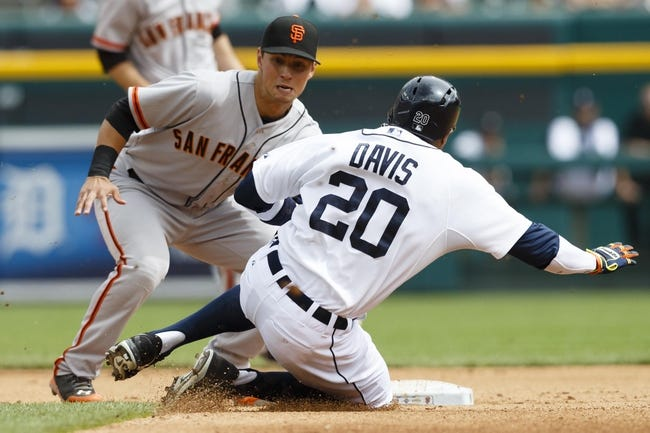 Detroit Tigers vs. San Francisco Giants MLB Pick, Odds, Prediction - 9/7/14