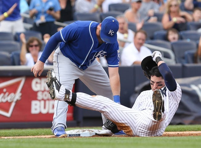 New York Yankees vs. Kansas City Royals MLB Pick, Odds, Prediction - 9/7/14