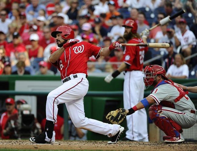 Washington Nationals vs. Philadelphia Phillies MLB Pick, Odds, Prediction - 9/7/14