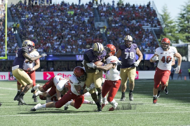 Washington Huskies vs. Georgia State Panthers 9/20/14 College Football Pick and Odds