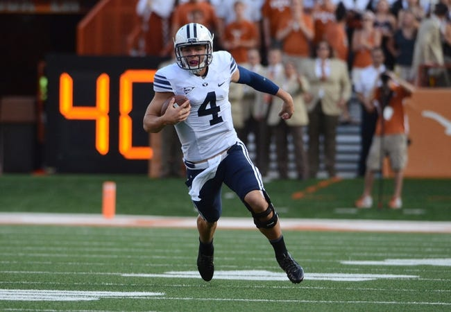 BYU Cougars vs. Houston Cougars Pick-Odds-Prediction - 9/11/14