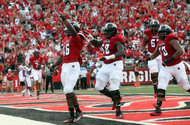 Louisiana-Lafayette Ragin` Cajuns vs. Appalachian State Mountaineers - 11/22/14 College Football Pick, Odds, and Prediction