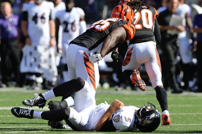Ravens at Bengals - 10/26/14 NFL Pick, Odds, Prediction