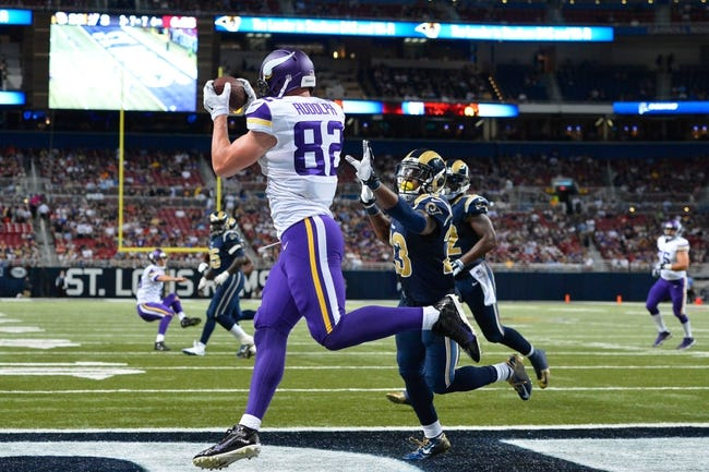 Minnesota Vikings vs. St. Louis Rams - 11/8/15 NFL Pick, Odds, and Prediction