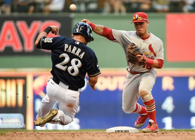St. Louis Cardinals vs. Milwaukee Brewers MLB Pick, Odds, Prediction - 9/16/14