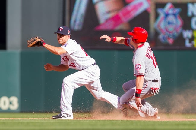 Los Angeles Angels vs. Minnesota Twins - 7/21/15 MLB Pick, Odds, and Prediction