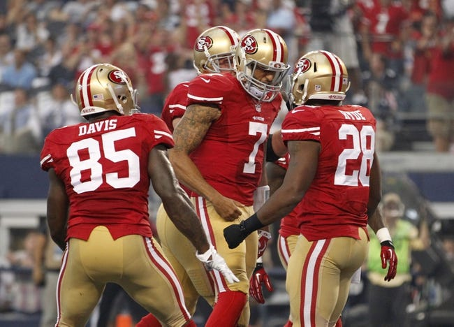San Francisco 49ers vs. Chicago Bears 9/14/14 NFL Pick, Odds, Prediction
