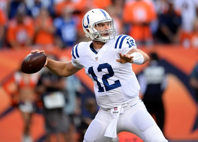 Fantasy Football 2014: Eagles at Colts 9/15/14 Week 2 Preview