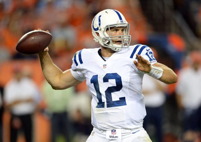 Philadelphia Eagles at Indianapolis Colts 9/15/14 NFL Pick, Odds, Prediction