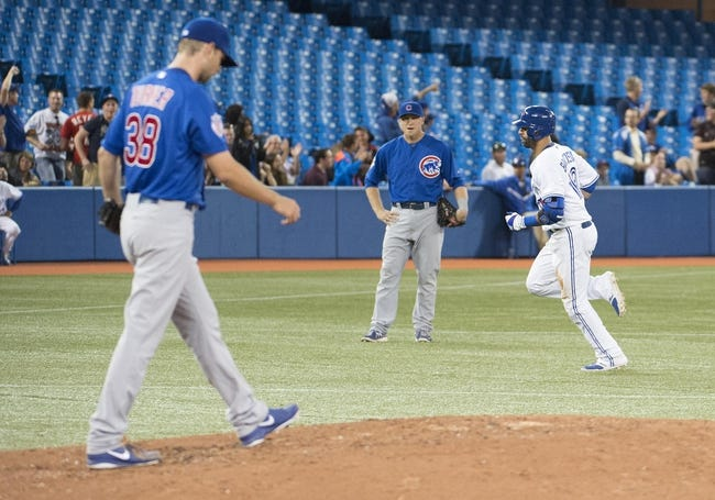 Toronto Blue Jays vs. Chicago Cubs MLB Pick, Odds, Prediction - 9/9/14