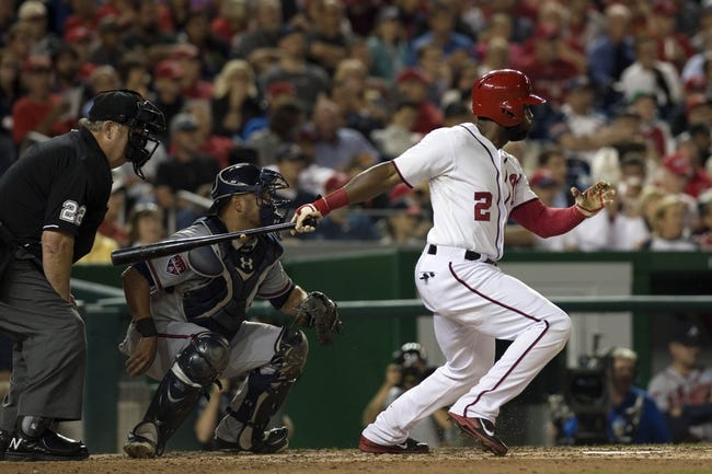 Atlanta Braves at Washington Nationals MLB Pick and Odds - 9/9/14