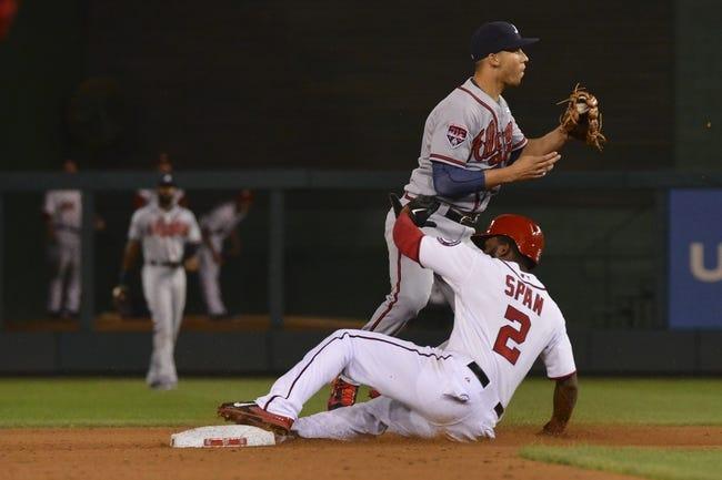 Washington Nationals vs. Atlanta Braves 9/9/14 MLB Pick and Odds