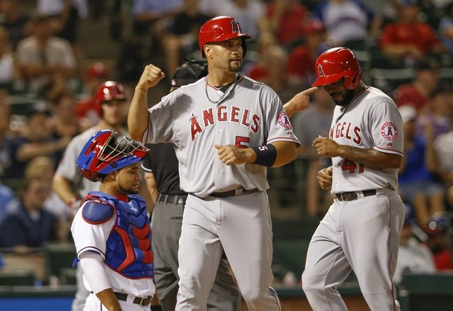 Texas Rangers vs. Los Angeles Angels MLB Pick, Odds, Prediction - 9/10/14