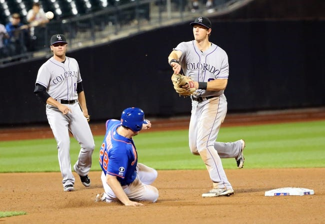 New York Mets vs. Colorado Rockies - 8/10/15 MLB Pick, Odds, and Prediction