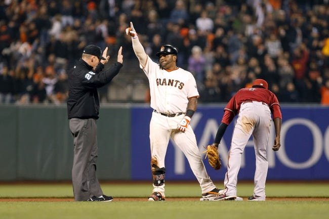 San Francisco Giants vs. Arizona Diamondbacks Pick-Odds-Prediction - 9/11/14