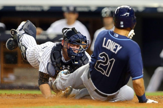 Tampa Bay Rays vs. New York Yankees 9/15/14 MLB Pick and Odds