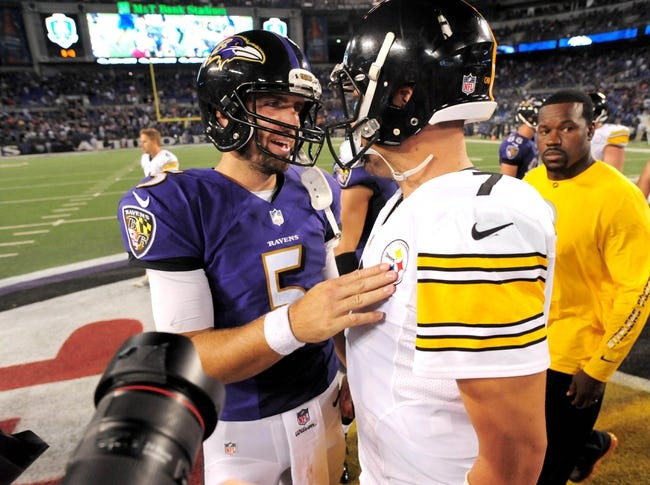 Steelers vs. Ravens - 11/2/14 NFL Pick, Odds, and Prediction