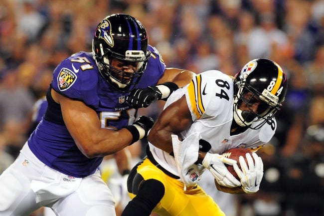 Fantasy Football 2014: Ravens at Steelers 11/2/14 Week 9 Preview