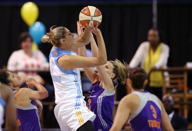 Phoenix Mercury vs. Chicago Sky - 8/9/15 WNBA Pick, Odds, and Prediction