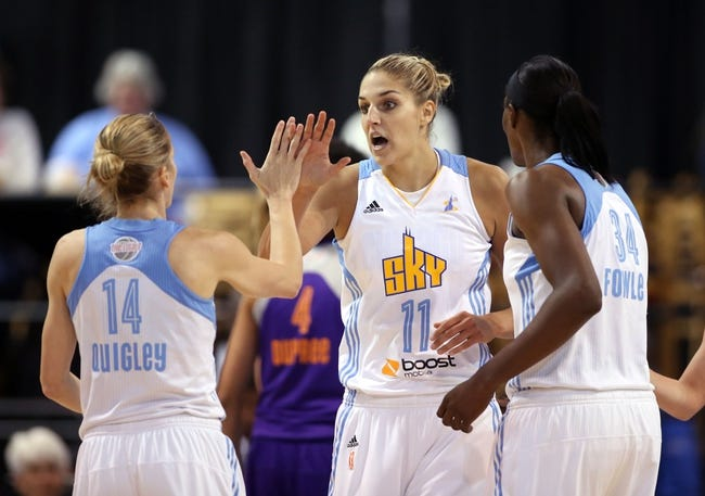 Washington Mystics vs. Chicago Sky - 8/2/15 WNBA Pick, Odds, and Prediction