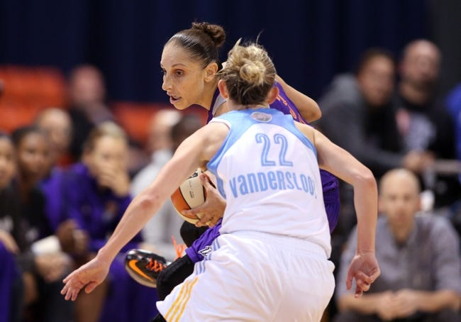 Chicago Sky vs. Phoenix Mercury - 6/12/16 WNBA Pick, Odds, and Prediction