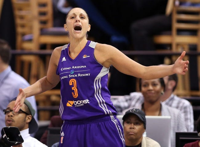 Los Angeles Sparks vs. Phoenix Mercury - 8/28/16 WNBA Pick, Odds, and Prediction