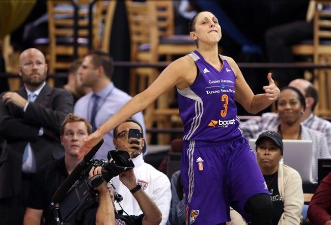 Chicago Sky vs. Phoenix Mercury - 7/19/16 WNBA Pick, Odds, and Prediction