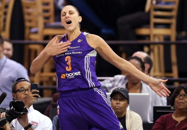 Washington Mystics vs. Phoenix Mercury - 5/29/16 WNBA Pick, Odds, and Prediction
