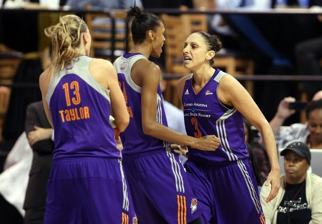 Dallas Wings vs. Phoenix Mercury - 8/26/16 WNBA Pick, Odds, and Prediction