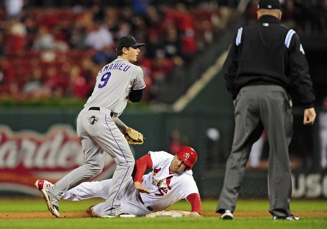 St. Louis Cardinals vs. Colorado Rockies 9/13/14 MLB Pick and Odds