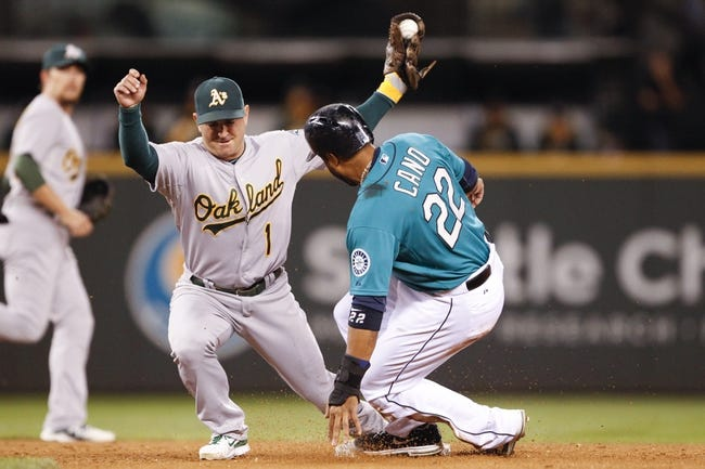 Seattle Mariners vs. Oakland Athletics Pick-Odds-Prediction - 9/14/14