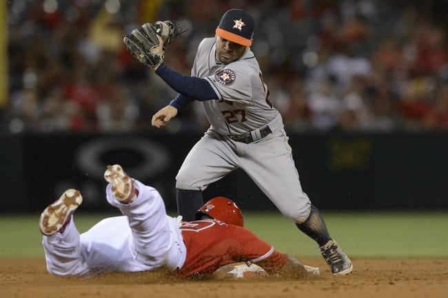 Los Angeles Angels vs. Houston Astros Pick-Odds-Prediction - 9/14/14