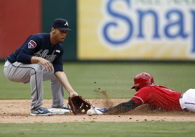 Texas Rangers vs. Atlanta Braves MLB Pick, Odds, Prediction - 9/14/14
