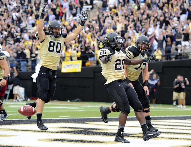 Vanderbilt vs. Old Dominion - 11/1/14 College Football Pick, Odds, and Prediction
