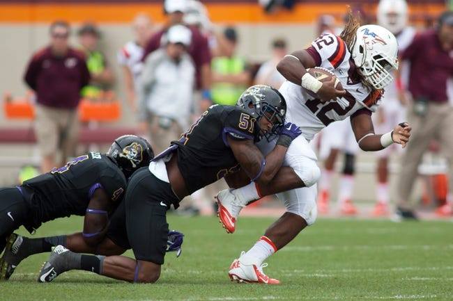 Virginia Tech Hokies vs. East Carolina Pirates - 9/26/15 College Football Pick, Odds, and Prediction