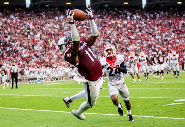 South Carolina vs. South Alabama - 11/22/14 College Football Pick, Odds, and Prediction