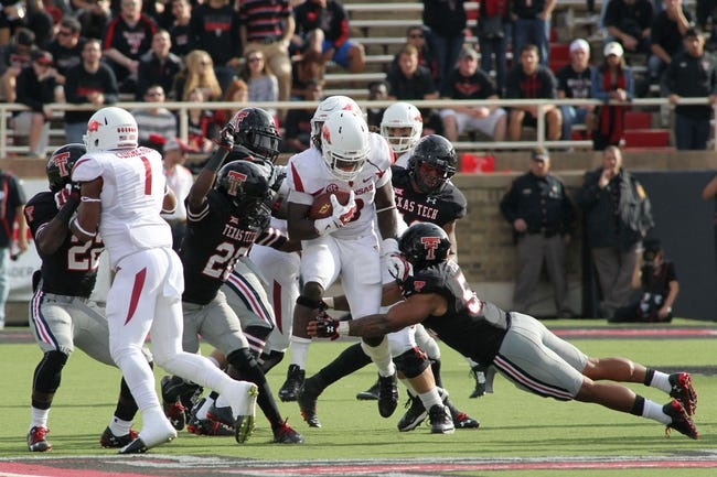 Arkansas vs. Texas Tech - 9/19/15 College Football Pick, Odds, and Prediction