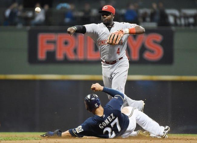 Cincinnati Reds vs. Milwaukee Brewers MLB Pick, Odds, Prediction 9/24/14
