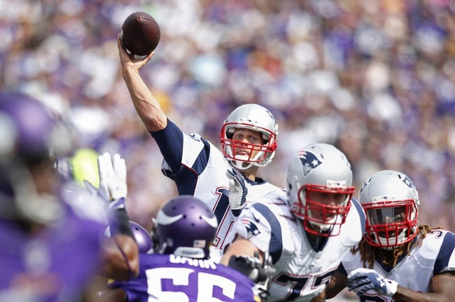 New England Patriots at Minnesota Vikings 9/14/14 NFL Score, Recap, News and Notes