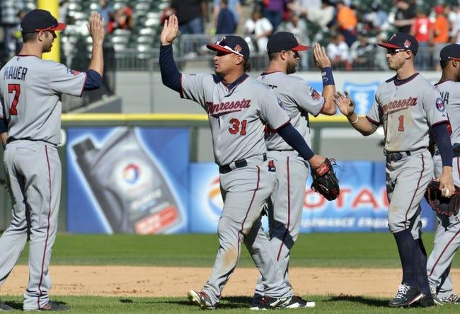 White Sox vs. Twins - 4/10/15 MLB Pick, Odds, and Prediction