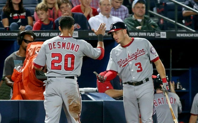 Atlanta Braves vs. Washington Nationals MLB Pick, Odds, Prediction - 9/16/14